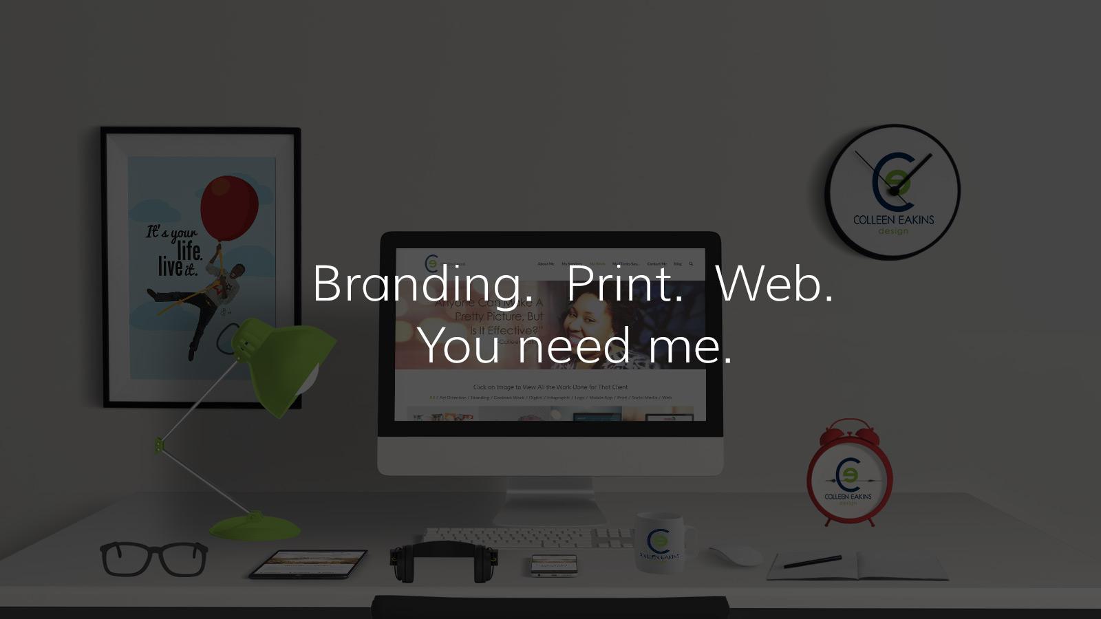 Branding + Print + Web Design | Colleen Eakins Design
