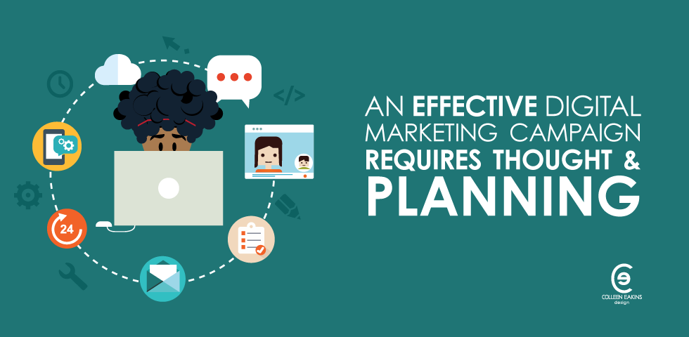 Digital Marketing Campaigns Require Planning | CED Blog