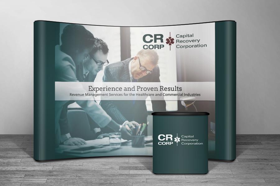 capital recovery corporation graphic design web design